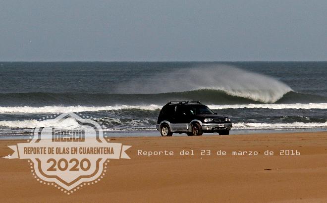 Reporte de Olas CUARENTENA 2020