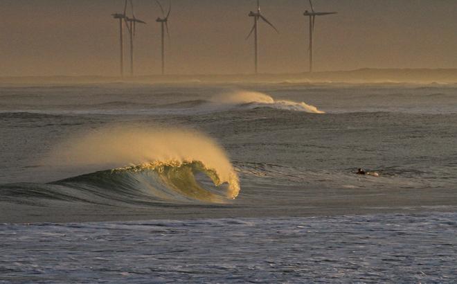 Reporte de olas Necochea